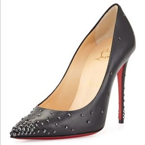 Authentic Christian Louboutin Degrastrass Heels